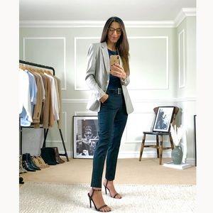 H&M Gray Fitted Blazer